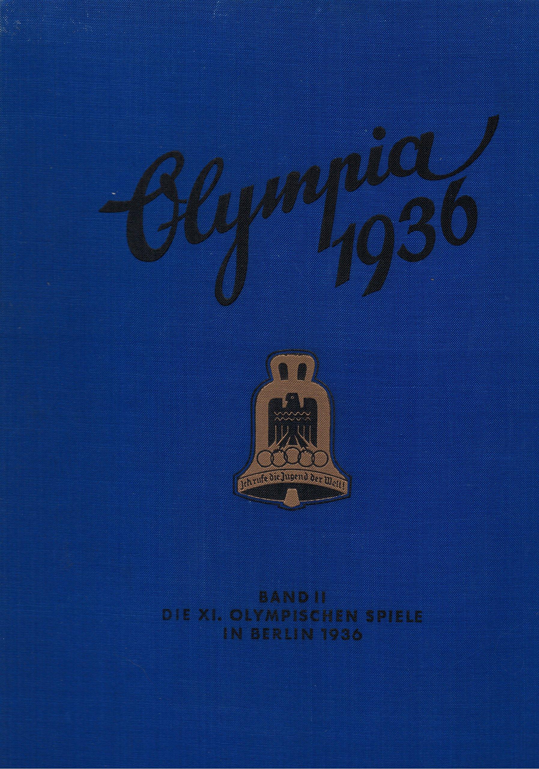 Olympia 1936 Book 2 Die Olympischen Spiele 1936 Band Ii Cigaretten Bilderdienst Altona Bahrenfeld Amazon Com Books