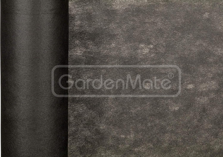 GardenMate 1mx75m Rollo Malla geotextil 50 g/m² - Geotextil para ...