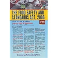 THE FOOD SAFETY AND STANDARD ACT,2006 ALONG WITH RULES AND RGULATIONS AS AMENDED UPTO 1ST AUGUST, 2018