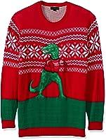 Blizzard Bay Men's Big and Tall Festive Llama Ugly Christmas ...