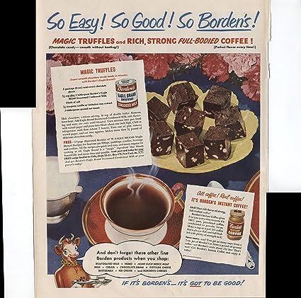Amazon com : Borden's So Easy So Good So Borden's! Magic Truffles