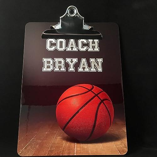 amazon com clipboard basketball coach gifts custom coach