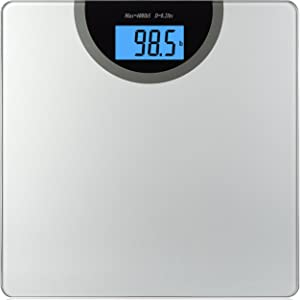 BalanceFrom Digital Body Weight Bathroom Scale with Step-On Technology and Backlight Display