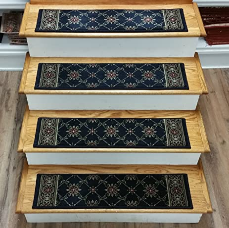 181484   Rug Depot Traditional European Carpet Stair Treads   Set Of 13  Treads 32u0026quot;