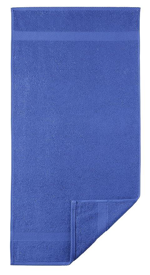 Egeria Diamant Manopla de baño algodón, Azul Cobalto ...