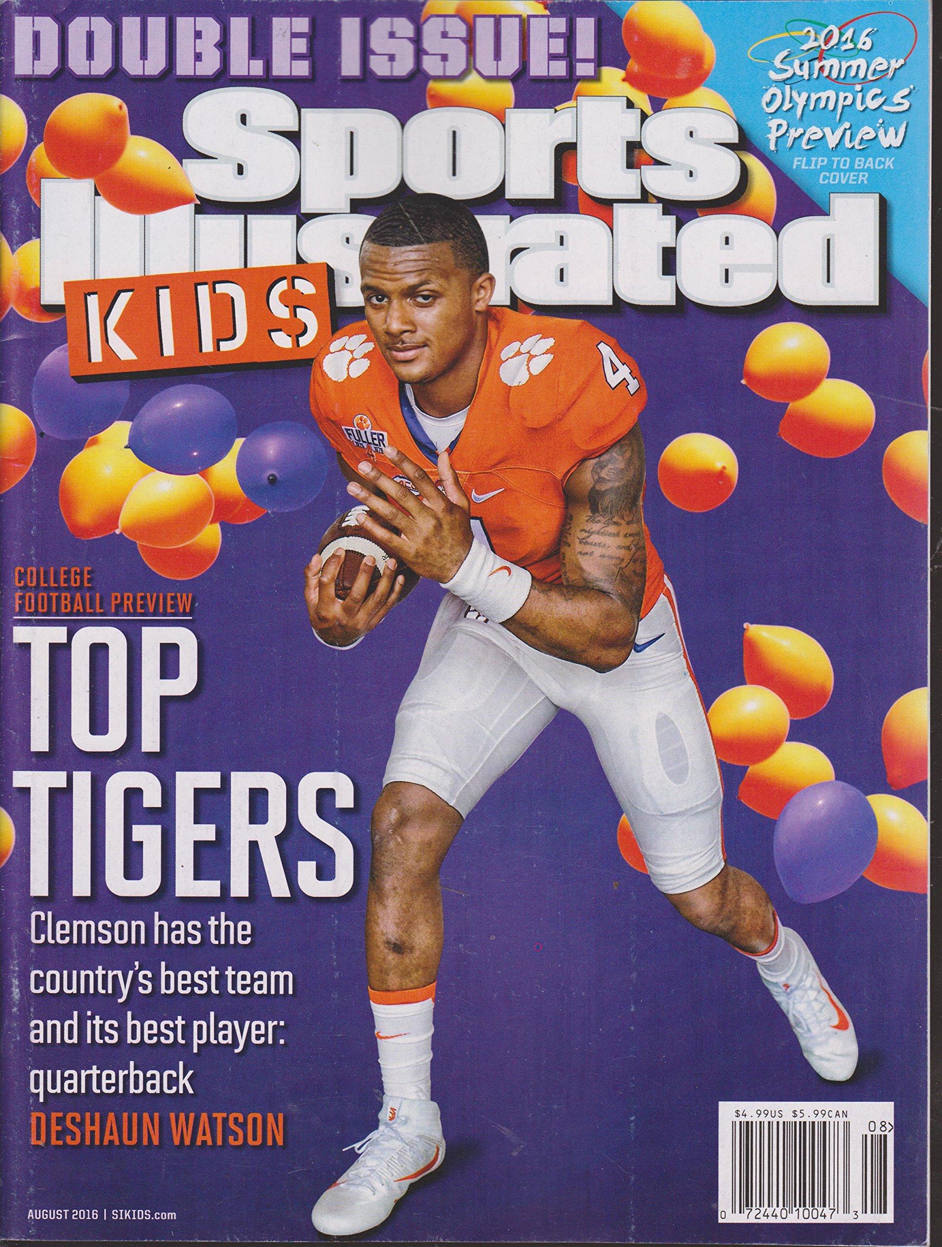Sports Illustrated Kids Magazine August 2016 pdf epub