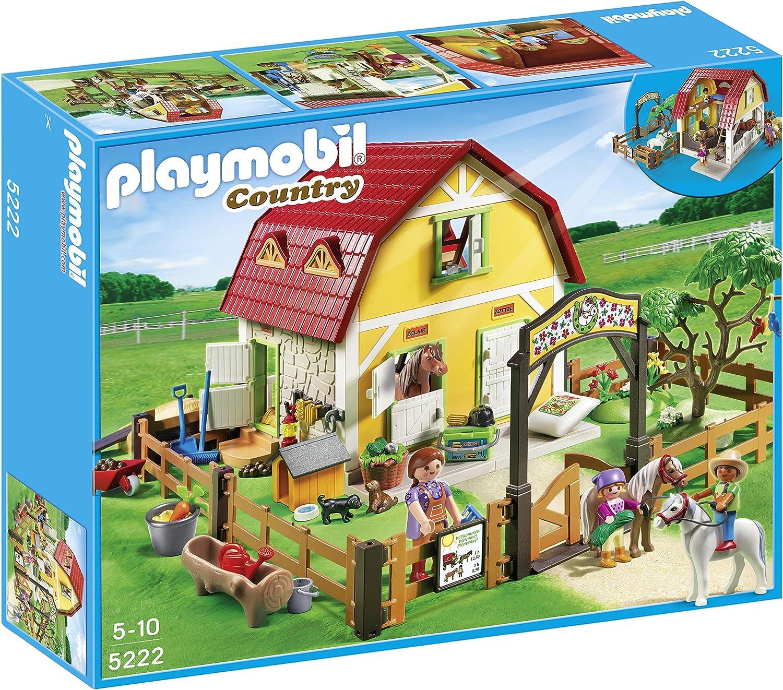 PLAYMOBIL - Rancho de Ponis, Set de Juego (5222)