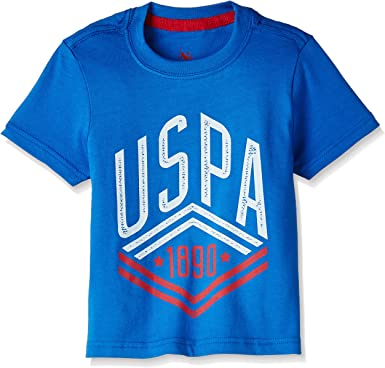 US Polo Association Boys' T-Shirt Boys' T-Shirts at amazon