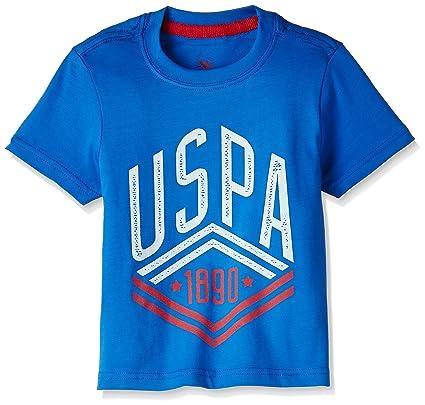 US Polo Association Boys' T-Shirt Boys' T-Shirts at amazon