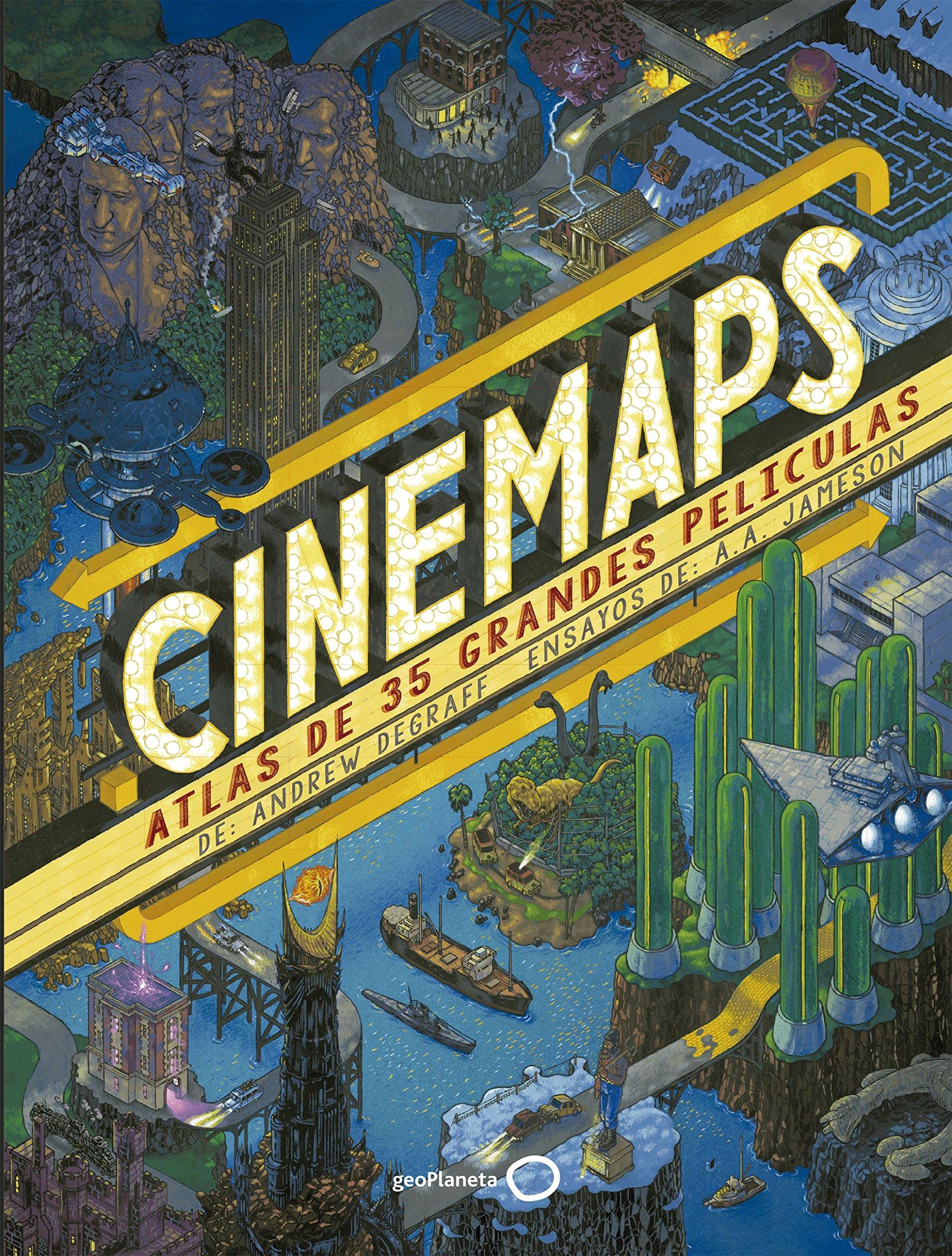 Cinemaps : atlas de 35 grandes películas: Andrew Degraff ...
