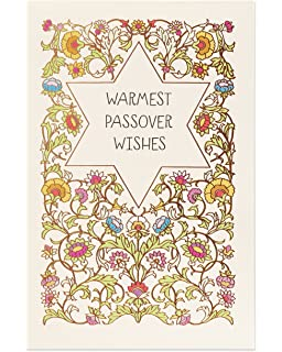 Amazon happy passover hope you have a wonderful holiday american greetings warmest wishes passover card with foil m4hsunfo