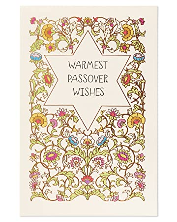 Amazon american greetings warmest wishes passover card with american greetings warmest wishes passover card with foil m4hsunfo