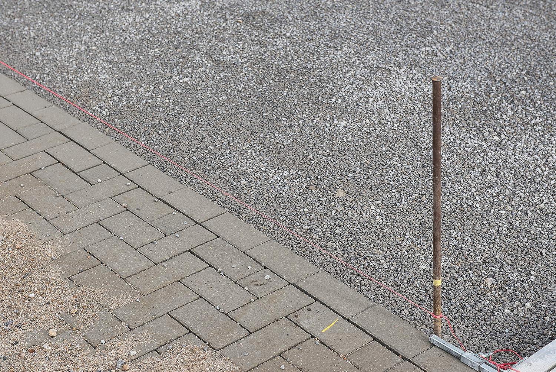 /Ø 1,0 mm Auf Spule // Richtschnur // Bauschnur // Lotschnur // Pflasterschnur // COX781540 Polyethylen Knotenfest Rei/ßfest /& Belastbar 100 m L/änge Connex Maurerschnur pink