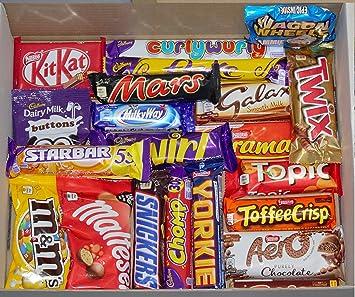 Amazoncom Ye Old Cornish Port Isaac 21 Piece English Chocolate