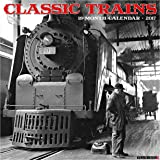 Classic Trains 2017 Wall Calendar
