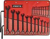 PROTO Ratcheting Wrench,Head Size 11//32 in. JSCV11T JSCV11T