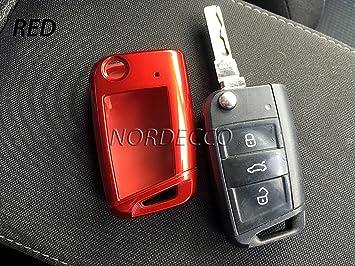 Funda plegable rígida para llave de coche Volkswagen VW Mark ...