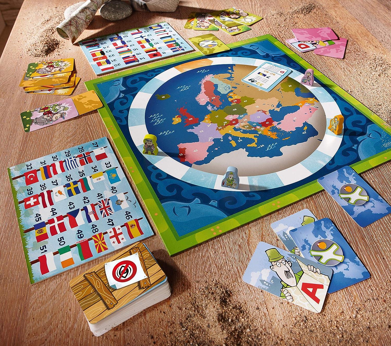 HABA- Juego de Mesa, Los Países de Europa, Multicolor (Habermass H304535): Amazon.es: Juguetes y juegos