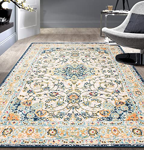 Rugshop Traditional Persian Area Rug 7 10 x 10 Multi