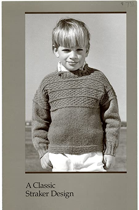 Amazon A Classic Straker Design Knitting Pattern C796 Childs