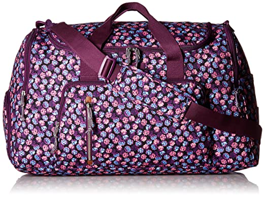 5590761509c0 Amazon.com  Vera Bradley Lighten Up Ultimate Gym Bag
