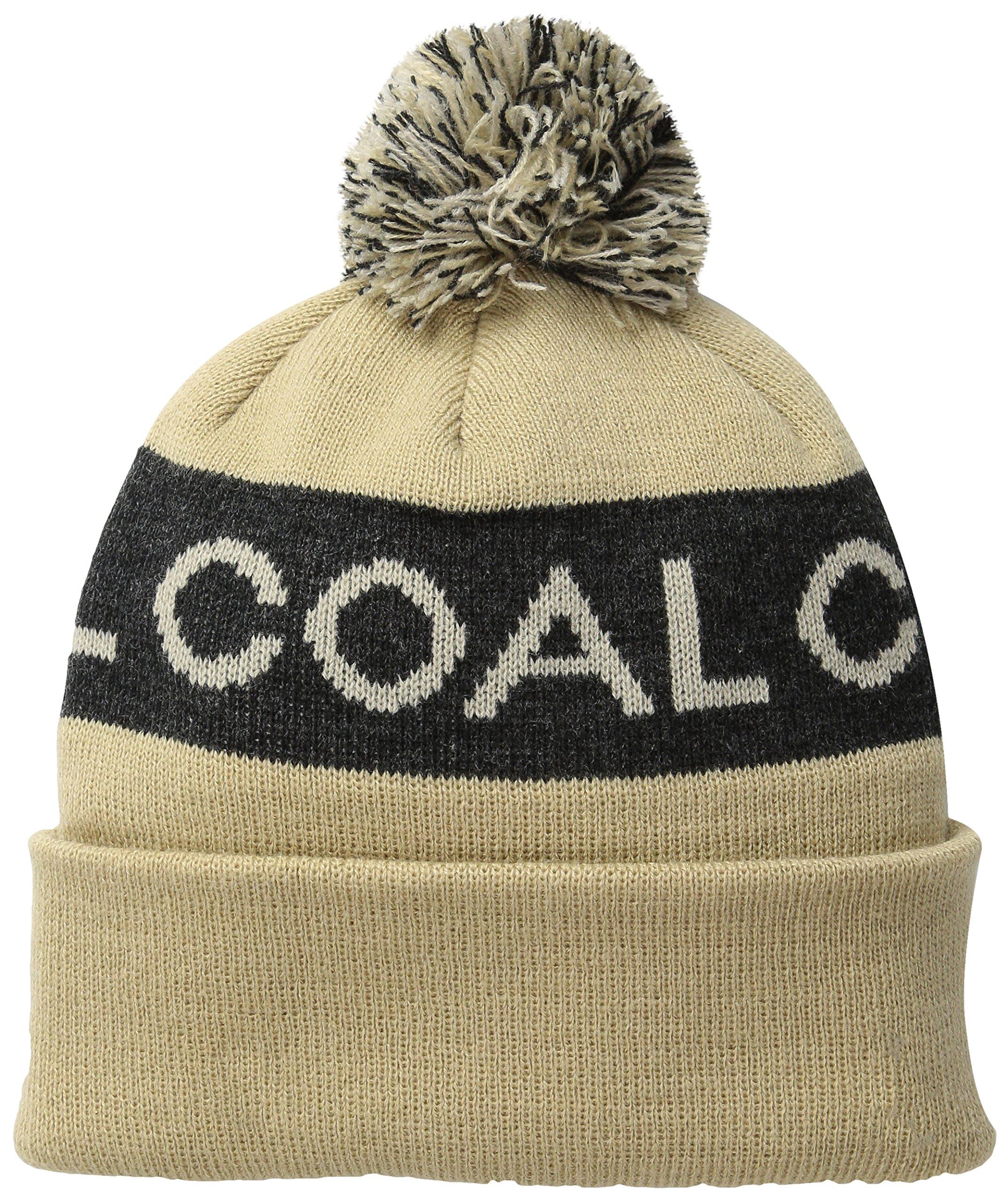 Coal The Team Fine Knit Beanie Hat with Pom Pom