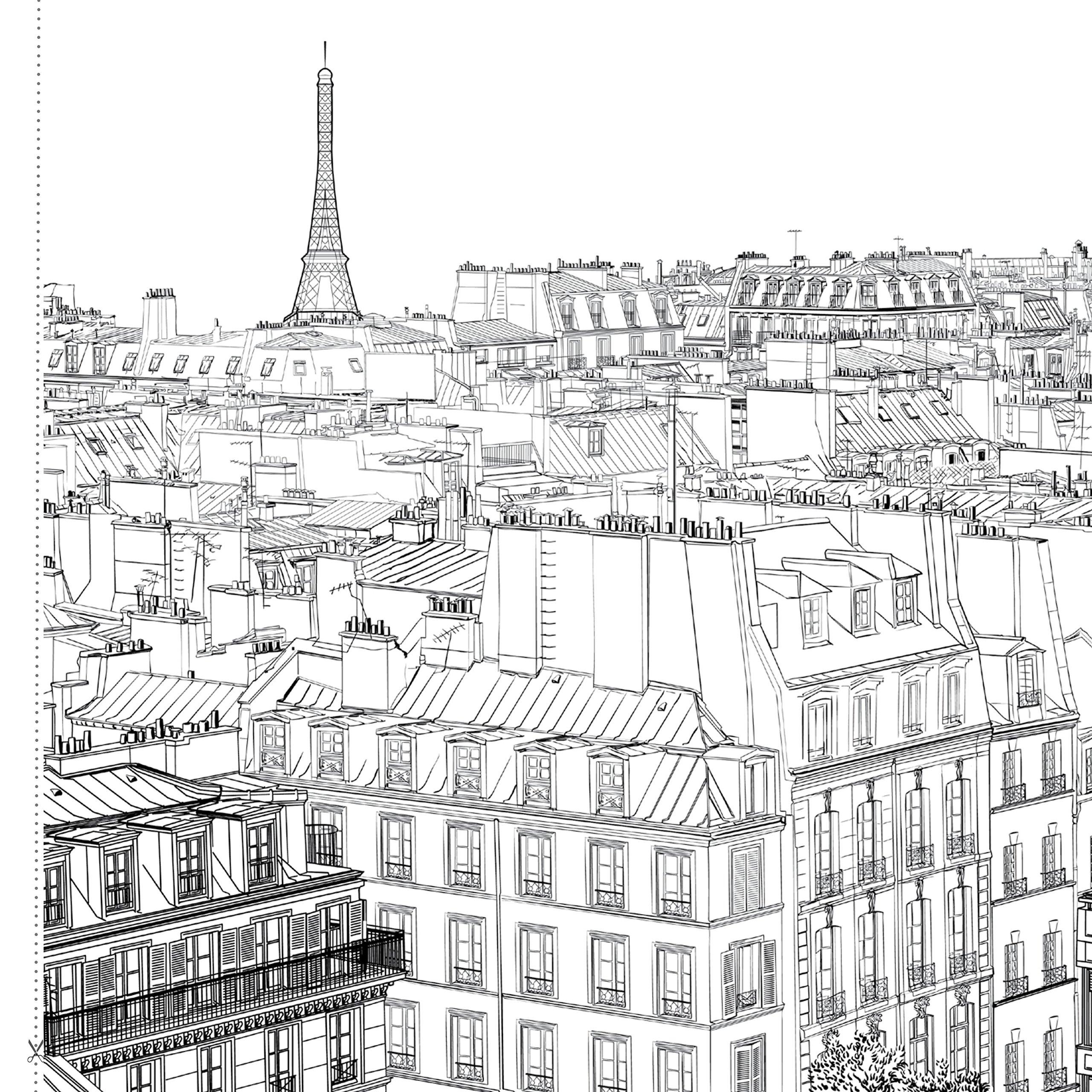 Bonjour Paris Um Livro Para Colorir E Relaxar Formato