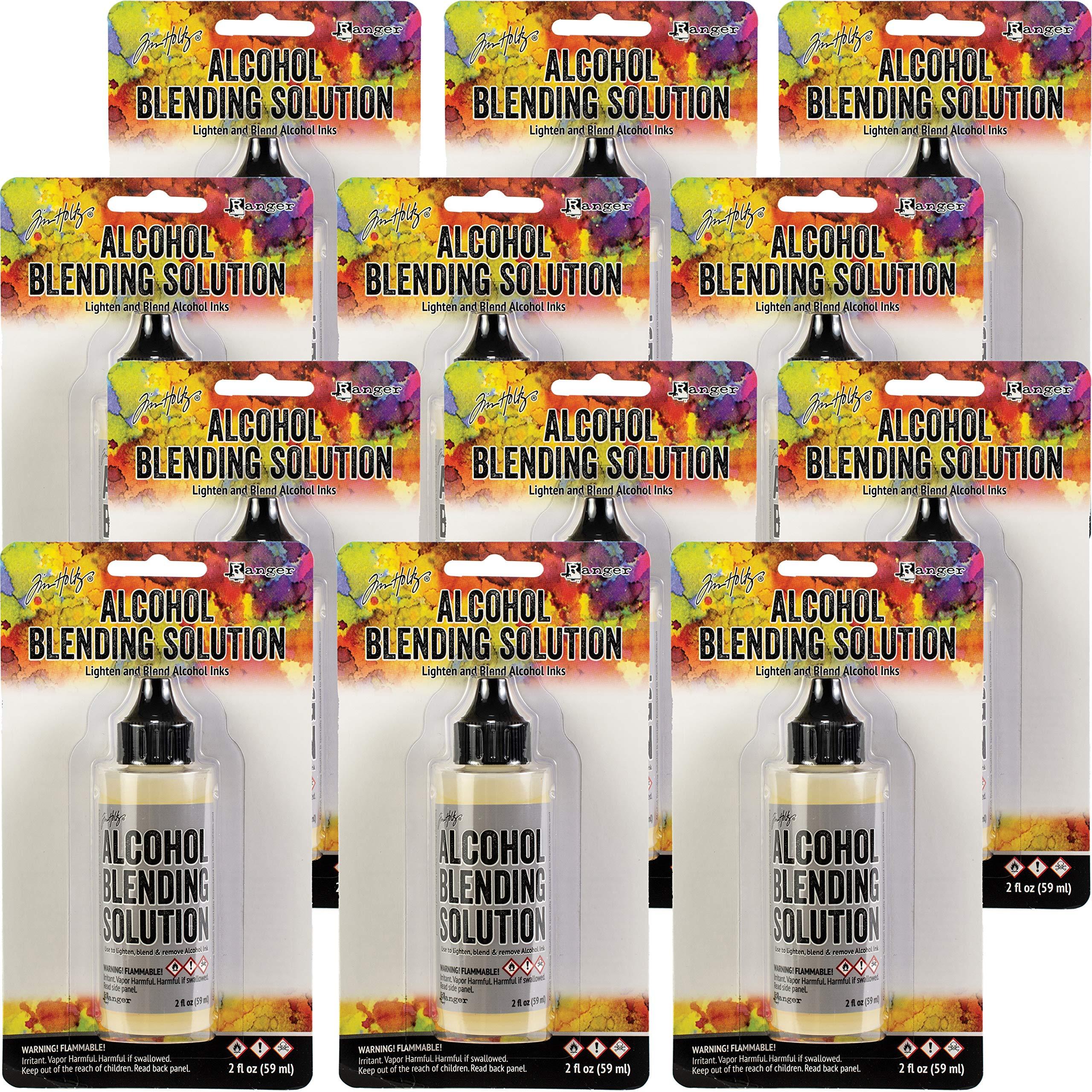Tim Holtz 95483 Alcohol Ink Blending Solution 2oz 12/Pkg, Pack