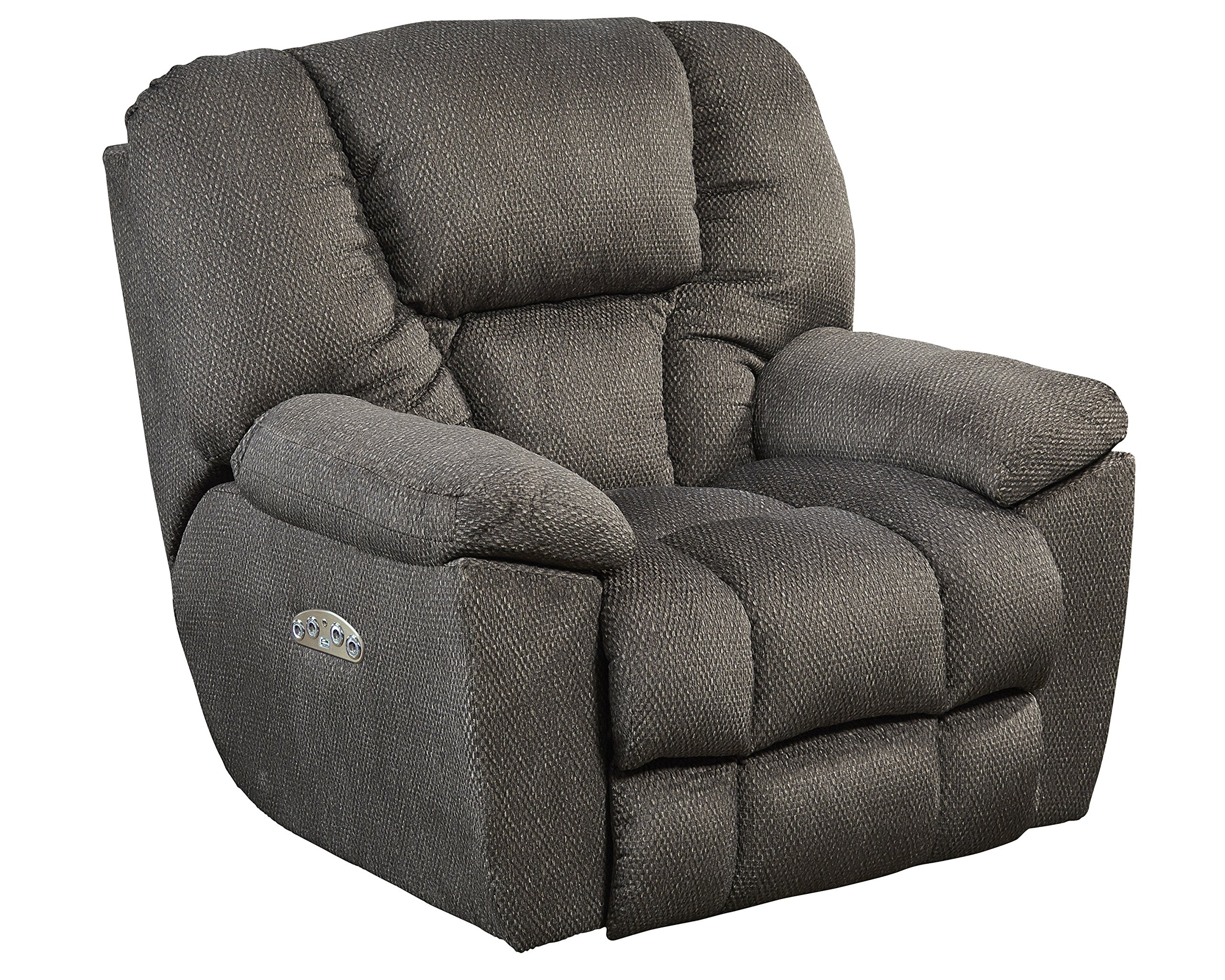 Catnapper Owens Power Lay Flat Recliner in Seal