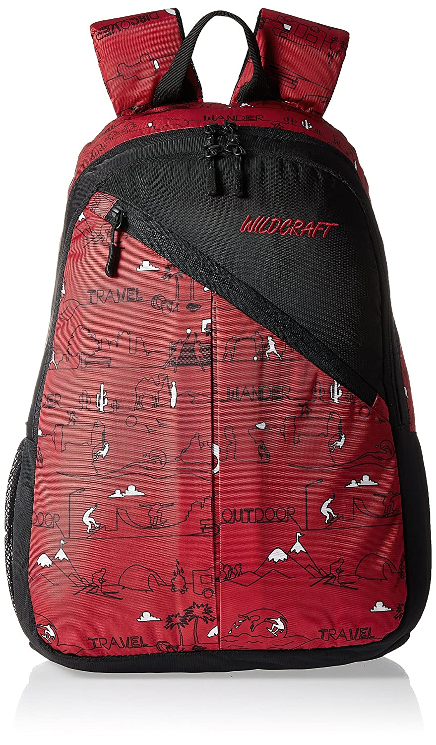 Wildcraft Sport LD Polyester Red Casual Backpack(8903338018360)