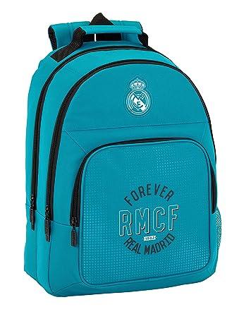Safta Mochila Real Madrid 3ª Equip. 17/18 Oficial Mochila Escolar, 320x160x420mm: Amazon.es: Ropa y accesorios