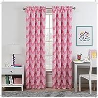 WAVERLY Waverly Kids Single Window Curtain Panel, 16551042X063GRE