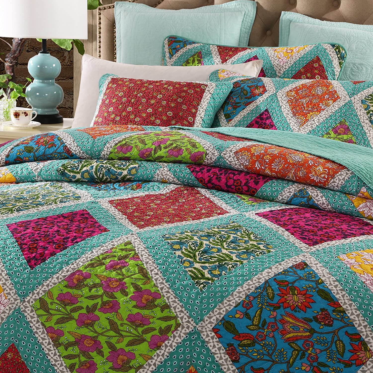 comforter quilts marimekko queen bedding mandala style quilt indian set bohemian