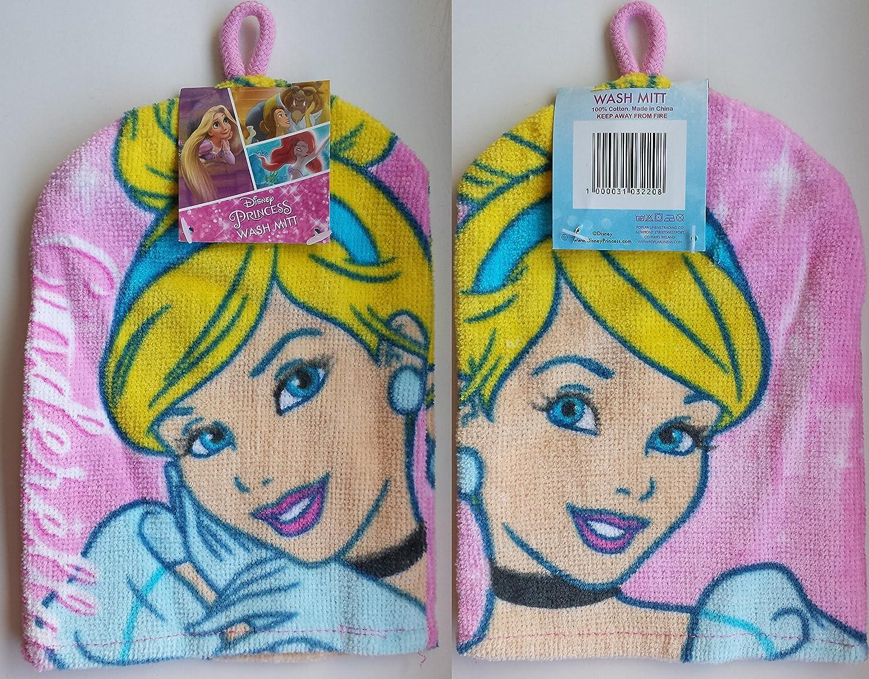 Cinderella Princess Wash Mitt - Bathing Accessories Poplar LinensTrading