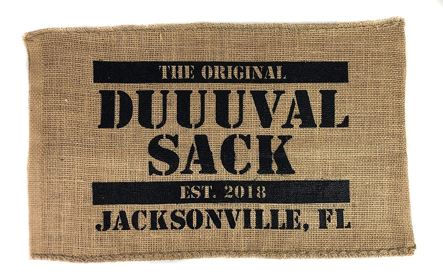 Welcome to Sacksonville GameDay Tailgate Rally Towel Wall Art Home Decor Flag Perfect for Office Man Cave Garage or Living Room The Original Duuuval Sack Jacksonville Florida Home of the Jaguars