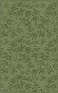 Brumlow Mills Entwined Simple Floral Home Indoor Area Rug with Colorful Print Pattern, Perfect for Any Living Room Decor, Dining Room, Kitchen Rug, or Bedroom Area Rug, 7'6