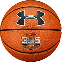 Under Armour UA 395 Basketbol Topu Basketbol Topu Unisex, Dark Orange// Black, 7