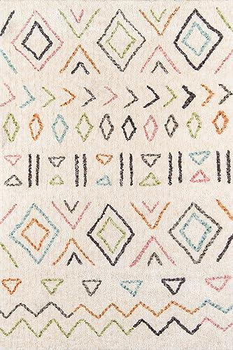 Novogratz by Momeni Bungalow Collection Area Rug, 7 6 X 9 6 , Ivory