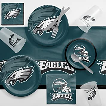 b0877eb4 Philadelphia Eagles Game Day Party Supplies Kit