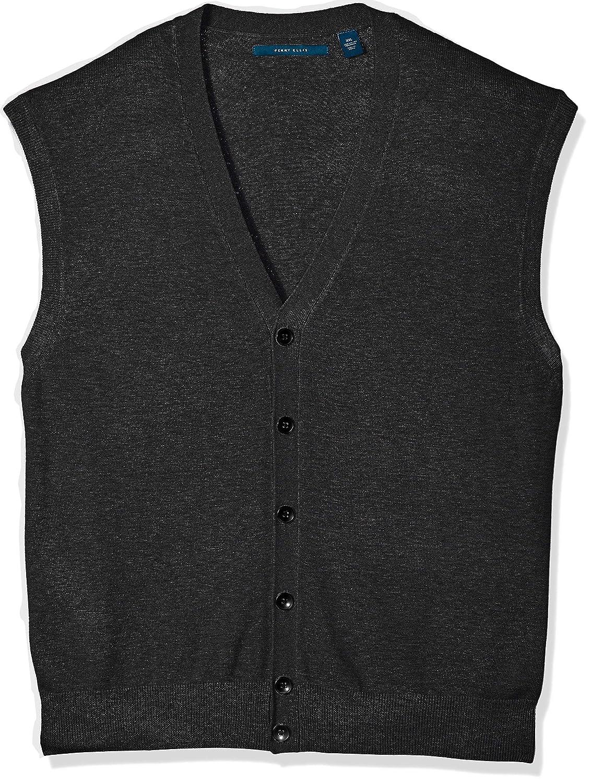 Perry Ellis Mens Jersey Knit Vest