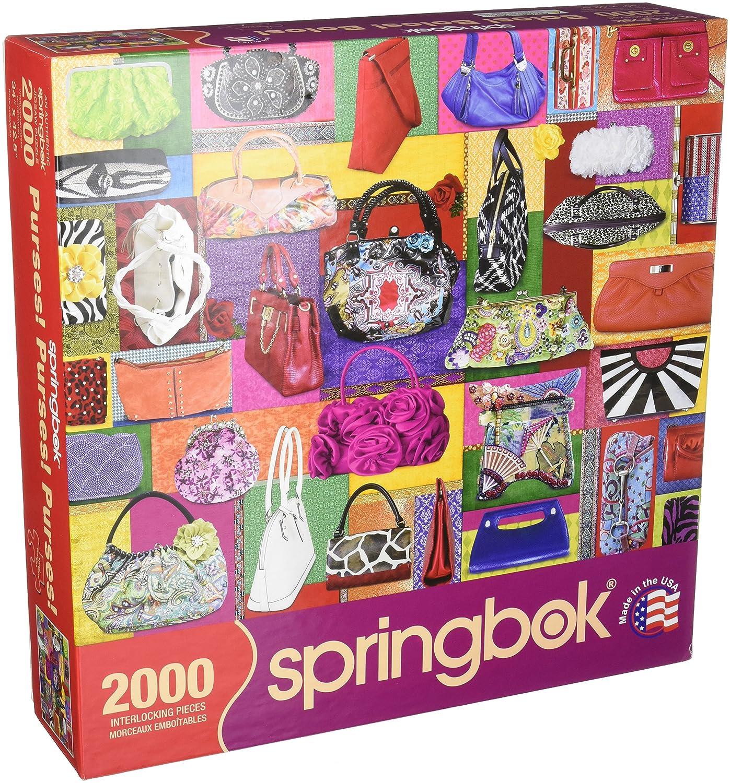 """venta caliente Springbok Springbok Springbok 33 – 20492 """"Monederos Jigsaw Puzzle (2000-Piece)  primera vez respuesta"""