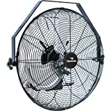 Tornado - 18 Inch High Velocity Industrial Wall Fan - 4000 CFM - 3 Speed - 6.5 FT Cord - Industrial, Commercial, Residential