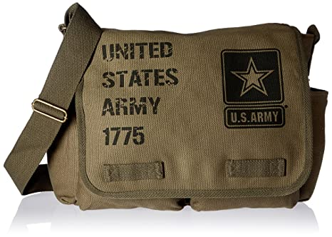 Amazon.com  Rapiddominance U.S Army Messenger Bag 62bd4383ef6