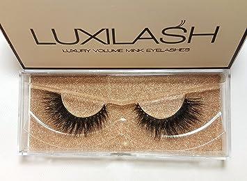 4da47ce2645 LUXILASH False Lash Extensions Premium Collection Double Layered 3D Fake  Mink Lashes – Reusable Upto 30