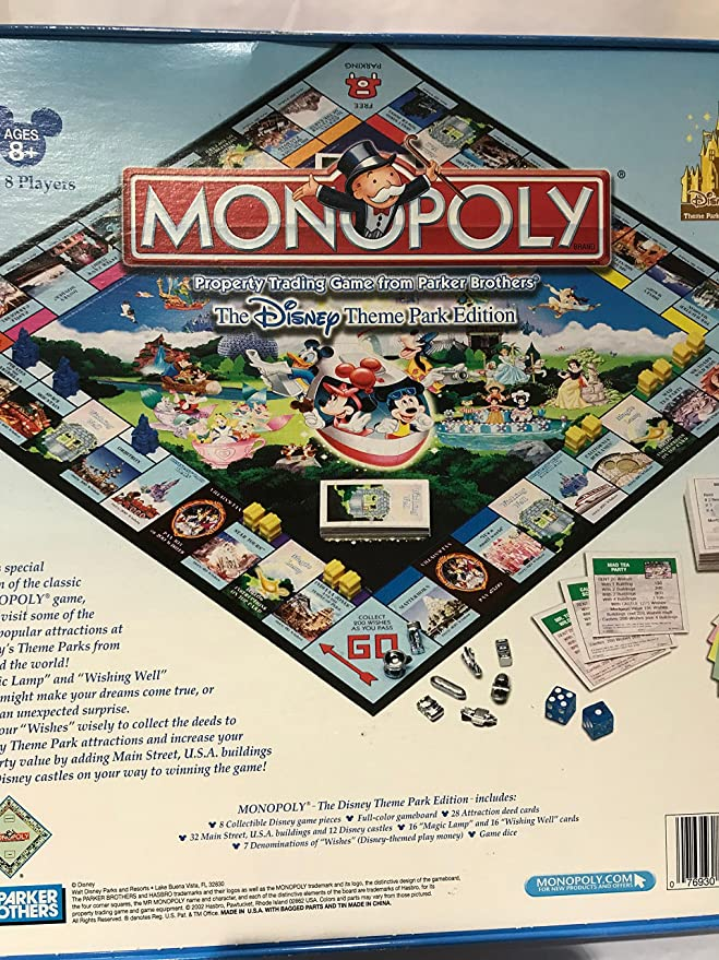 Monopoly The Theme Park Edition: Amazon.es: Juguetes y juegos