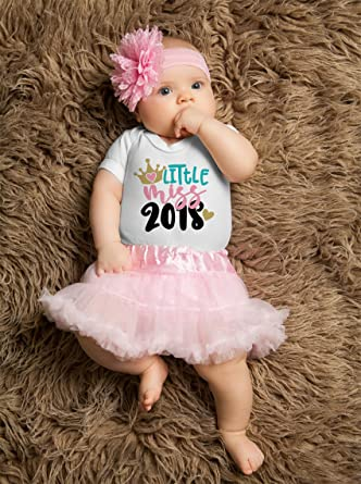 Amazon.com: Little miss 2018 Juego de tutú rosa, para primer ...