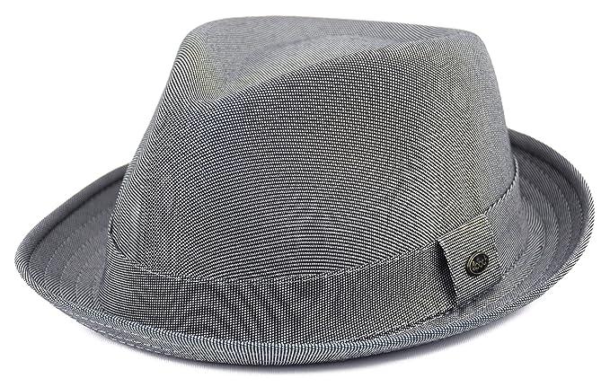 09a2e3ab904 Mens Summer Fedora Hat