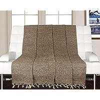 Saral Home Soft Cotton Handloom Sofa Covers/Throw- 125x150 cm
