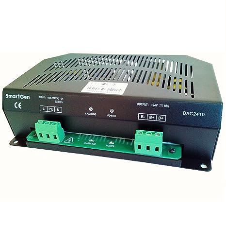 Amazon.com: SMARTGEN BAC2410-24V Generator Battery Charger ...