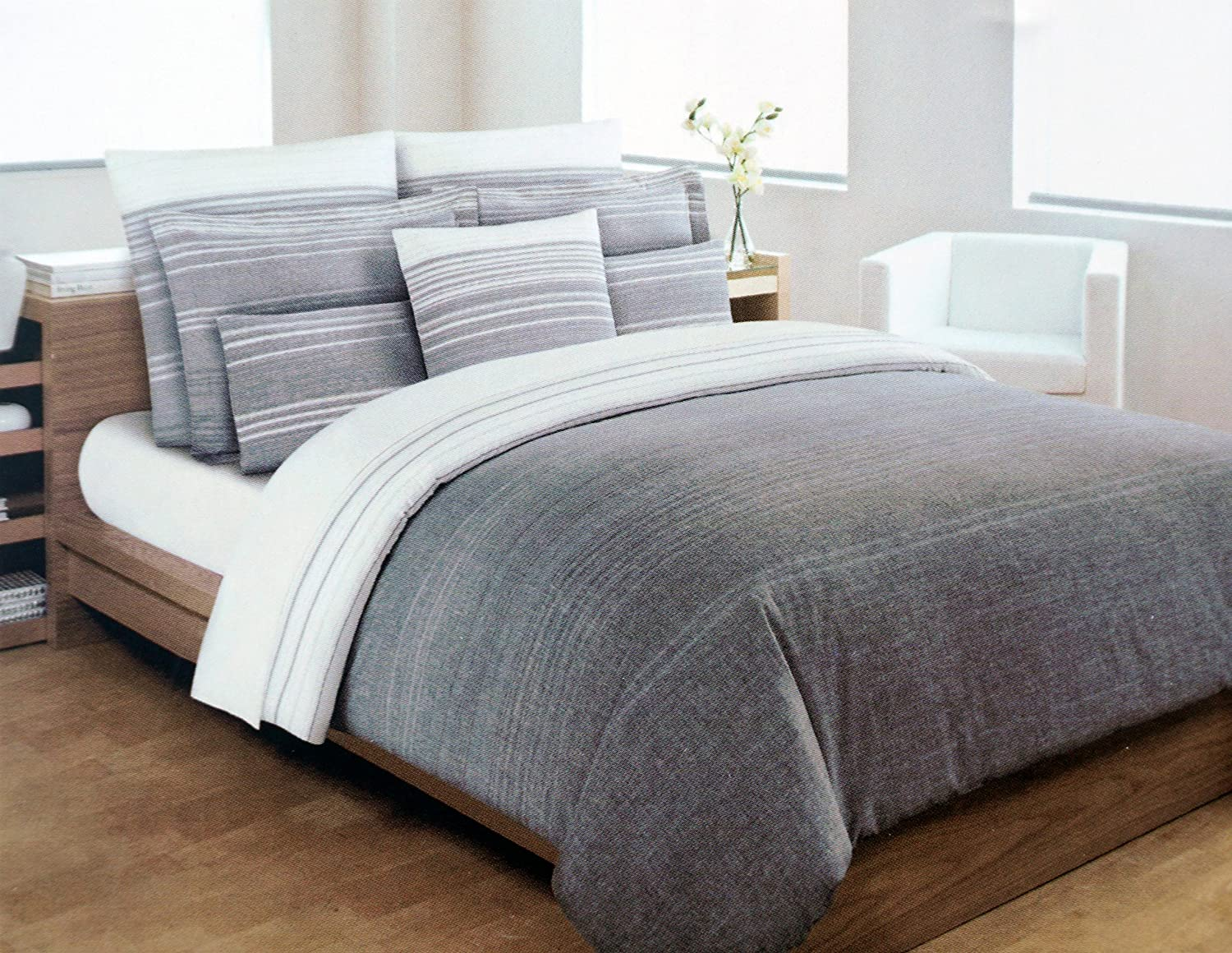 set hampton new duvetcover hamptonstripe dormify stripe sham and cover gray products duvet